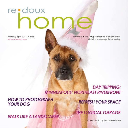 Redoux Home Magazine cover - March/April 2011