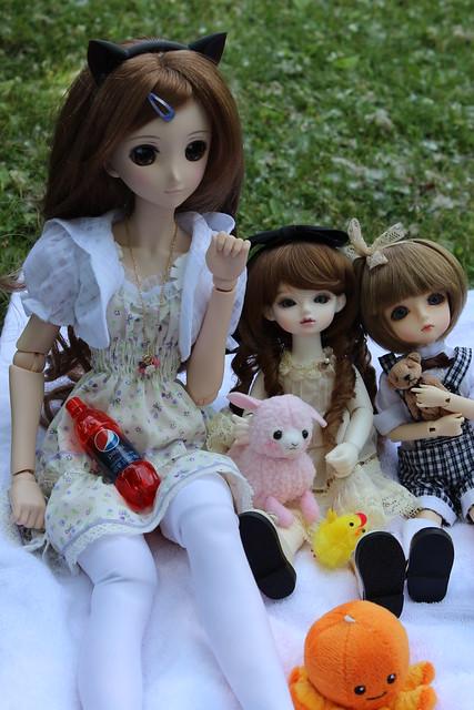 Amber, Lareine and Delilah