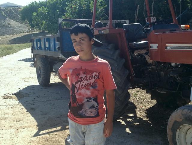 Kid in Hasankeyf