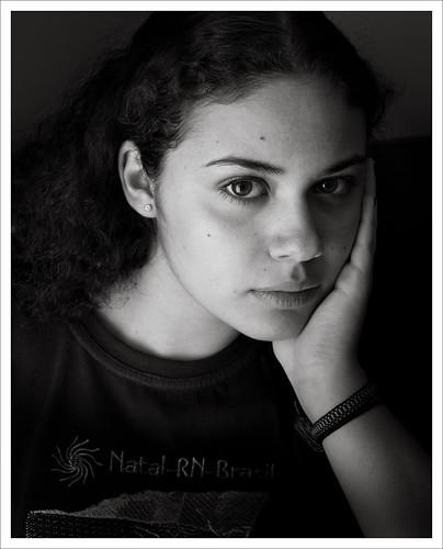 Ritratto Larissa by Luiz L.