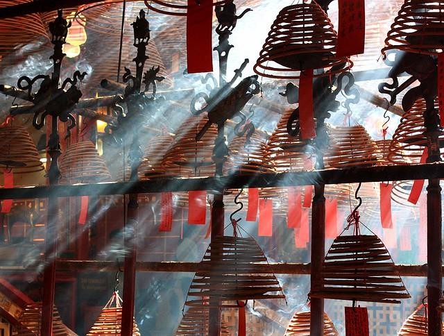 Man Mo Temple, Sheung Wan, Hong Kong, fotoeins.com