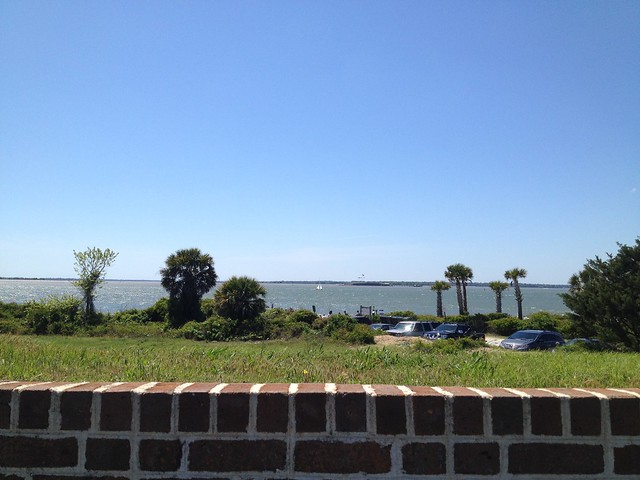 Fort Sumter view from Fort Moultrie