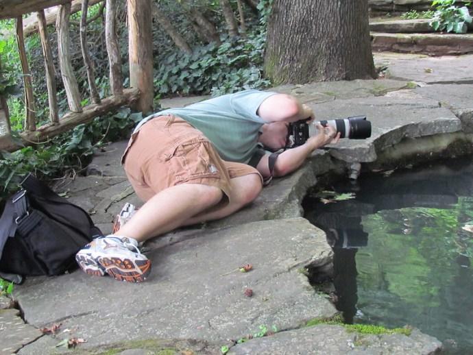 Behind the Scenes at Bridal Shoot | Dunaway Gardens | Atlanta Wedding Photographer