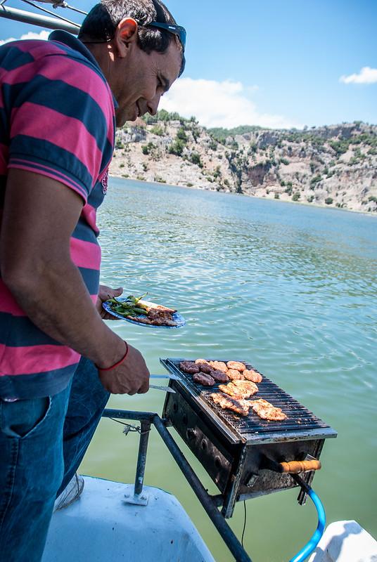 Lekker eten in Turkije met Kapitan Osman grilt de kebab
