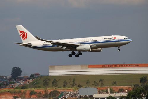 Air China | Airbus A330-200 @ SBGR