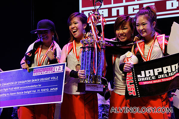 Singapore Dance Delight Vol.3 Winners - Da' Street Soulz