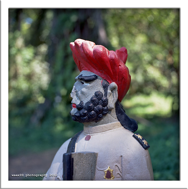 Sikh Guard - Bukit Brown Chinese Cemetery - Singapore