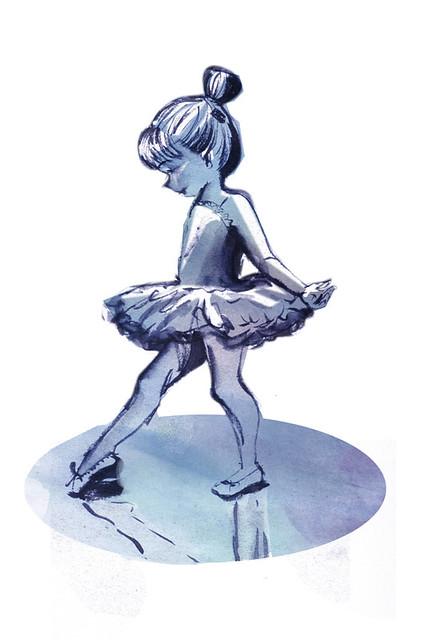 Quando crescer - bailarina