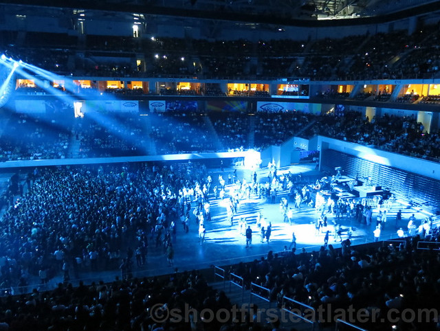 Lady Gaga at the SM Mall of Asia Arena-020