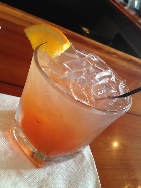 Charleston Punch cocktail - Anson Restaurant
