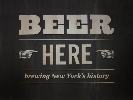 Beer Here sign