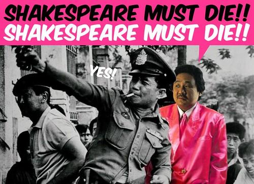 Shakespeare Must Die!!