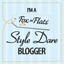 I'm a super awesome Fox in Flats Style Dare Blogger