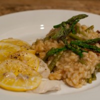 Asparagus and Sun-Dried Tomato Risotto