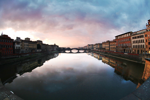 Sunset in Firenze