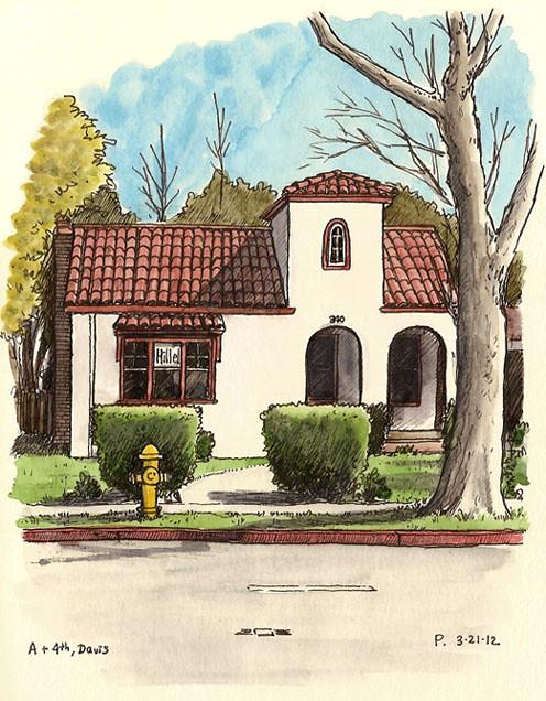 davis hillel house (temporary)