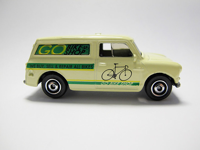 Matchbox MINI - Go Bike Shop