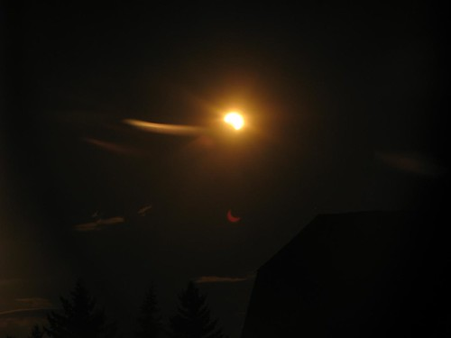 Solar Eclipse from Regina