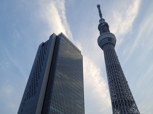 Soramachi and Tokyo Skytree
