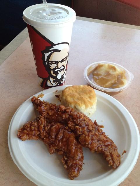 2 piece extra crispy chicken tenders meal - KFC