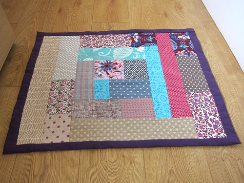quick and easy bath mat