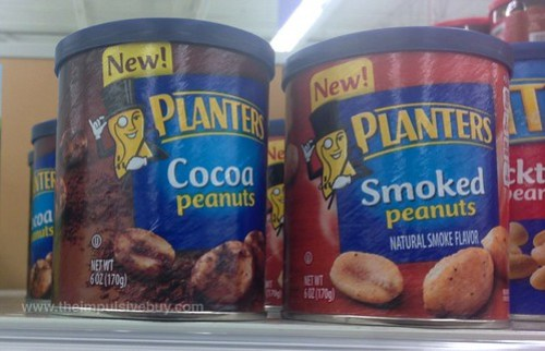 Planter Cocoa Peanuts and Smoked Peanuts