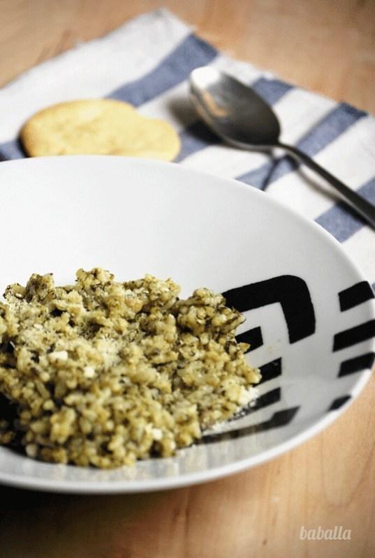 receta fácil de arroz verde