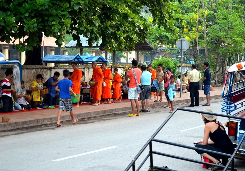 Luang Prabang alms