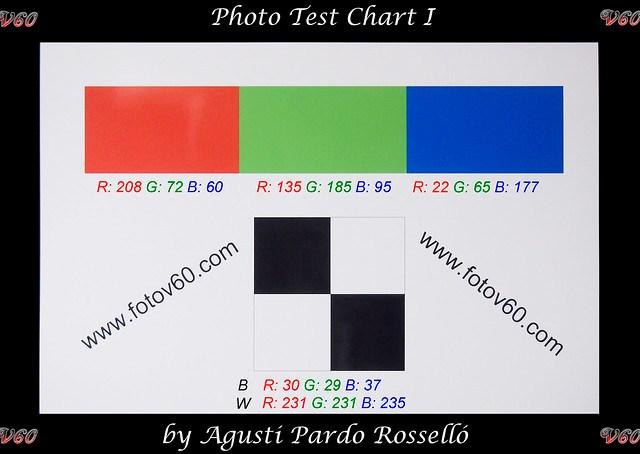 Carta de color - Olympus E-PM1 ISO 1600 color