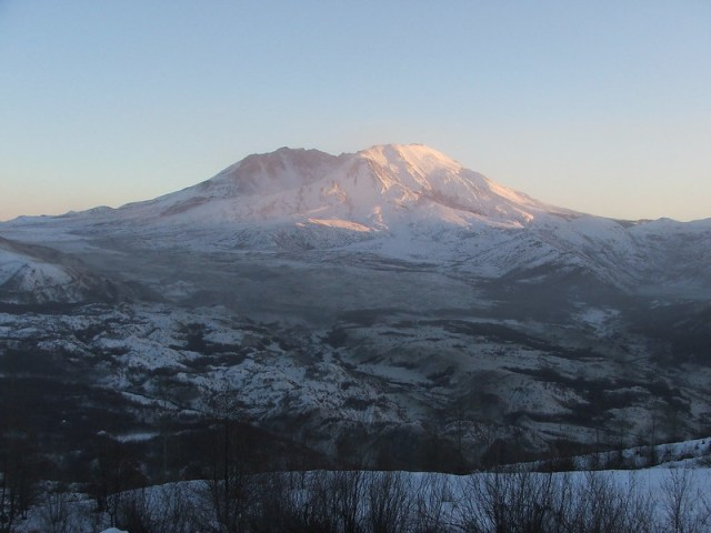 Picture from Mt. St. Helens, Washington