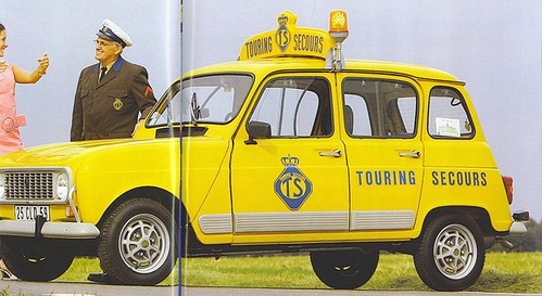 Renault 4 GTL - Touring Secours