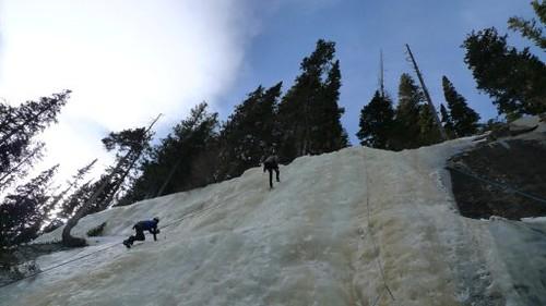 CMC Ice Climbers at Clinic