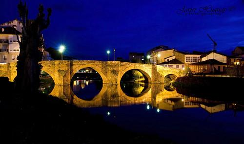 El Puente Viejo en Monforte Galicia-Spain (Explored)