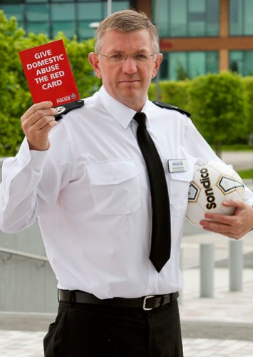 Give Domestic Abuse the Red Card