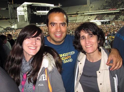 photocon María José en Barcelona tras el concierto de mi vida el 17 de mayo de 2012