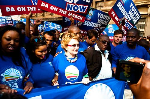 DA marches on Jozi by S:P:S