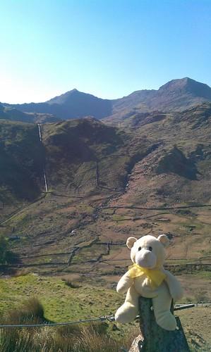 At Mount Snowdon