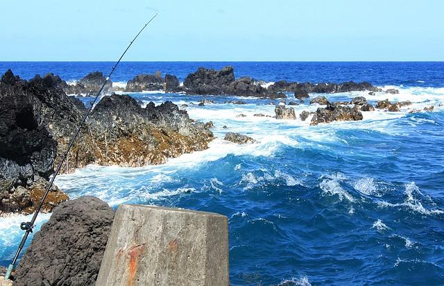 Lauapahoehoe Harbor, Hamakua Coast, Big Island, Hawaii