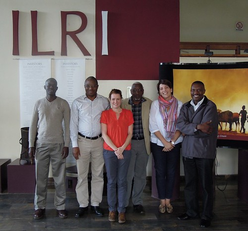 Participants at a workshop to develop an Outcome Mapping strategy for the Safe Food, Fair Food project