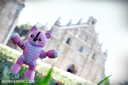 Pink Bearguy at Paoay Church