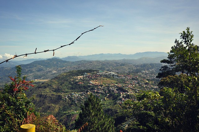 A view of Baguio from Mount Sto. Tomas