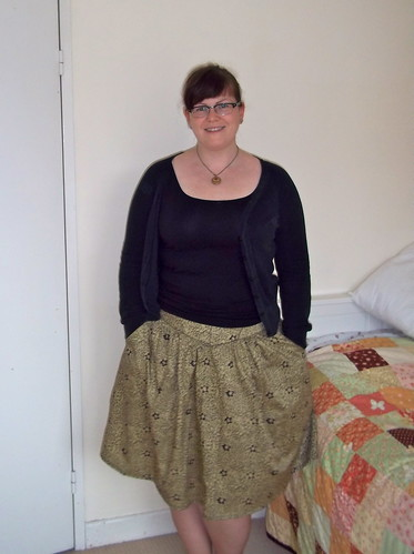 Me Made May day 14 - Sewaholic Crescent Skirt