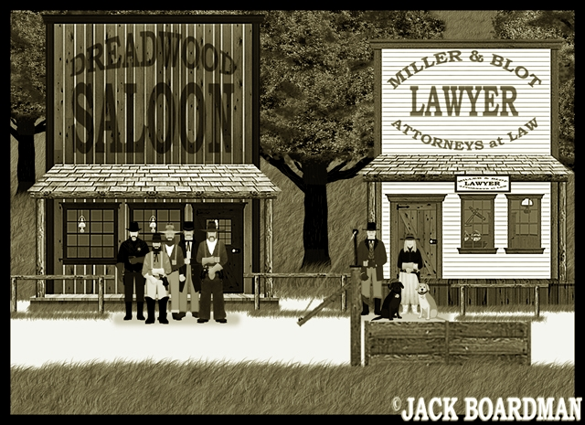 Marshal Kidd's reputation as a lawman grew ©2012 Jack Boardman