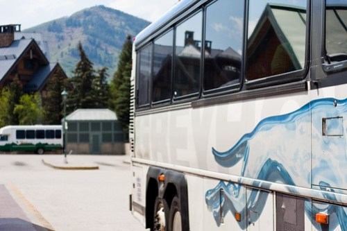 Greyhound Bus, Vail Transportation Center