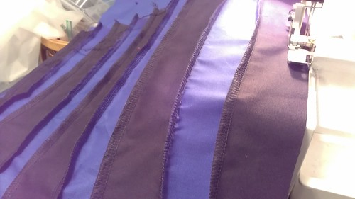 Creating Striped Fabric for Eridan pants