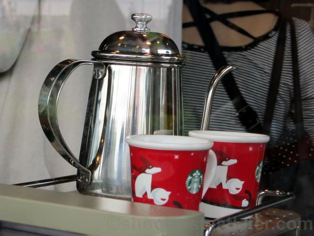 Starbucks Taipei 14th Anniversary sale- Starbucks gooseneck kettle