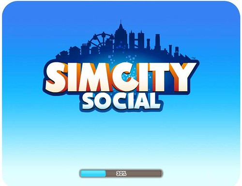 SimCity Social in Closed Beta + Loading Screen