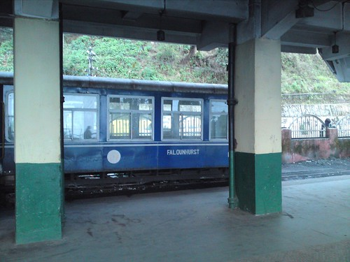 DHR train at Darjeeling