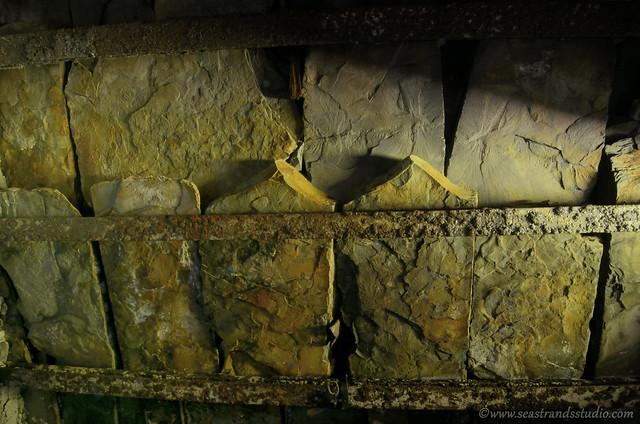 Root cellar roof detail