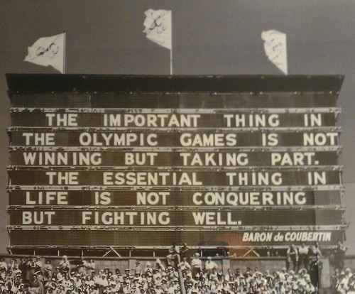 Olympic Wisdom by ROIHUNTER